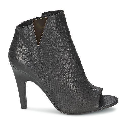 Mujer Negro Botines Zapatos Vic Carvi lFKcJ1