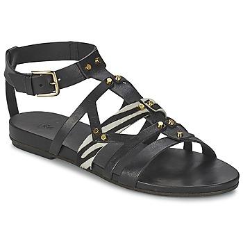 Zapatos Mujer Sandalias Vic GINKO ACHANTUS Negro