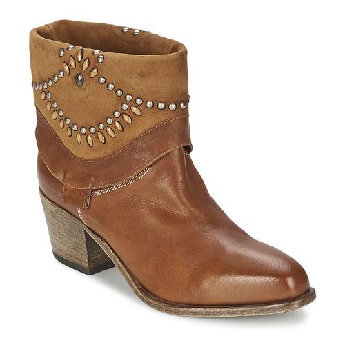 Zapatos Mujer Botines Vic AGAVE Marrón