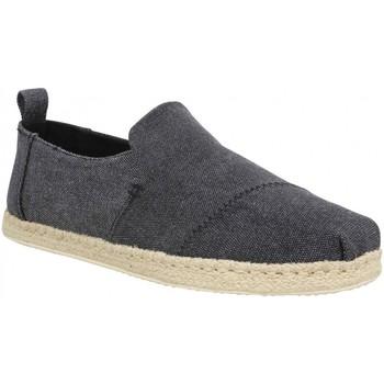 Zapatos Hombre Alpargatas Toms 111096 Negro