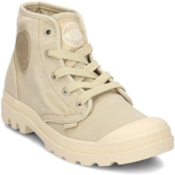 Zapatos Mujer Zapatillas altas Palladium Manufacture Pampa HI Amarillos