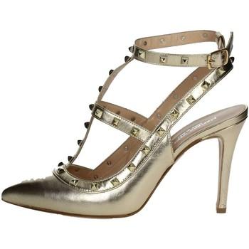 Zapatos Mujer Zapatos de tacón Mariano Ventre VAL01 Zapatos Con Tacones Mujer Platino Platino