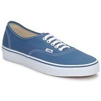 Zapatos Zapatillas bajas Vans AUTHENTIC Azul