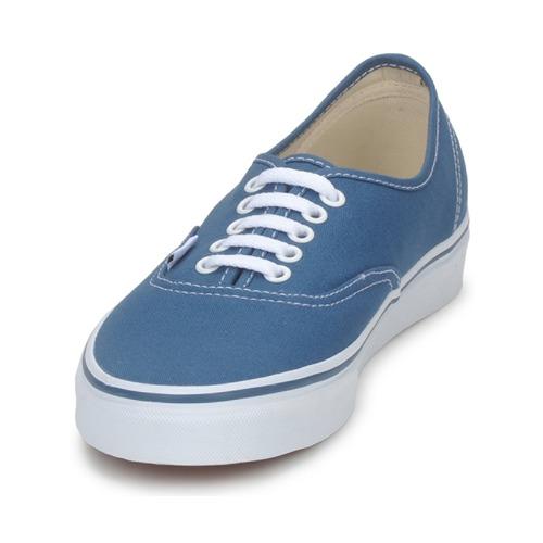 Azul Zapatillas Vans Zapatos Authentic Bajas XiOkuPZ