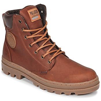 Zapatos Hombre Botas de caña baja Palladium PALLABOSSE SC WP Marrón