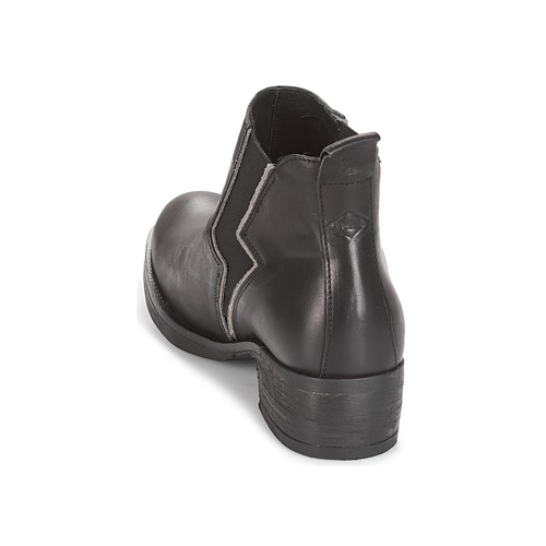 Botas Mujer Baja Negro Caña De 8kwX0nPO