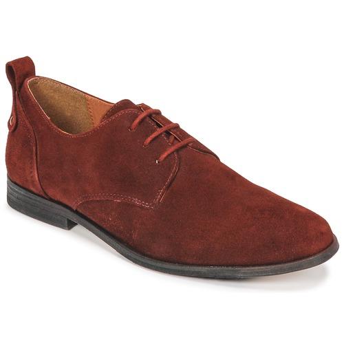Zapatos Mujer Derbie PLDM by Palladium PICADILLY SUD Rojo / Ladrillo