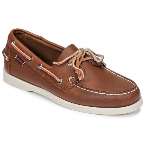 Zapatos Hombre Zapatos náuticos Sebago DOCKSIDES FGL Marrón