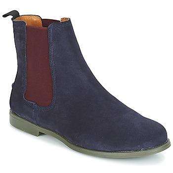 Zapatos Mujer Botas de caña baja Sebago CHELSEA DONNA SUEDE Marino