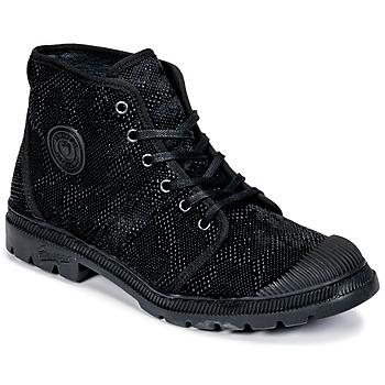 Zapatos Mujer Botas de caña baja Pataugas Authentique TP Negro
