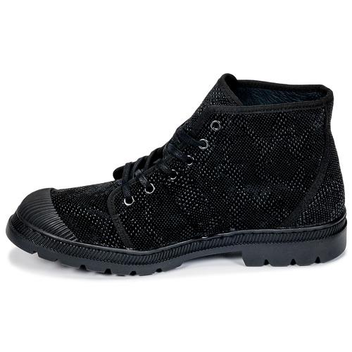 Botas Baja Zapatos Tp Caña Pataugas Authentique De Negro Mujer 6YbgyI7vf