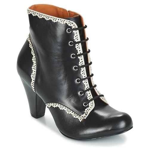 Zapatos Mujer Botines Cristofoli KARANA Negro