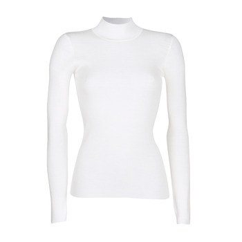 textil Mujer jerséis Ikks RUNO Blanco