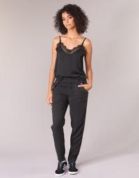 textil Mujer Pantalón cargo Ikks MIRSSEEP Negro