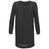 textil Mujer vestidos cortos Ikks BURRI Negro