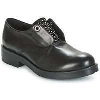Zapatos Mujer Derbie Tosca Blu FRASER Negro