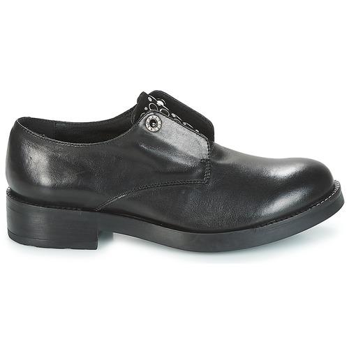 Blu Zapatos Derbie Negro Tosca Fraser Mujer OikXuPZ