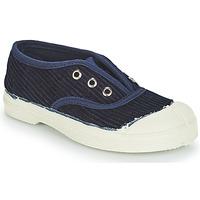Zapatos Niños Zapatillas bajas Bensimon TENNIS ELLY CORDUROY Marino