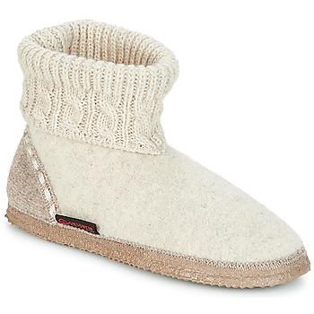 Zapatos Mujer Pantuflas Giesswein FREIBURG Beige