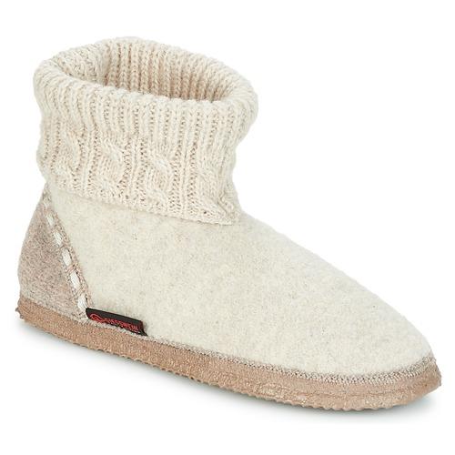 Zapatos Pantuflas Beige Mujer Giesswein Freiburg HDY29WIE