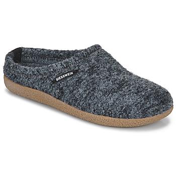 Zapatos Mujer Pantuflas Giesswein VEITSCH Gris
