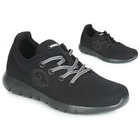 Zapatos Mujer Zapatillas bajas Giesswein MERINO RUNNERS Negro