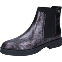 Zapatos Mujer Botines Liu Jo botines gris cuero BY589 gris