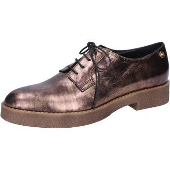 Zapatos Mujer Mocasín Liu Jo elegantes bronce cuero BY591 otros