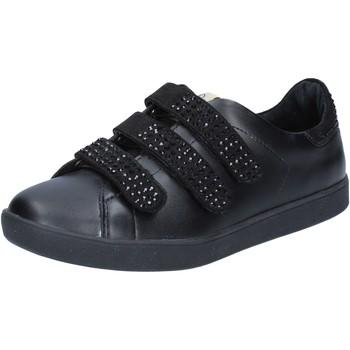 Zapatos Mujer Zapatillas bajas Liu Jo sneakers negro cuero gamuza BY639 negro