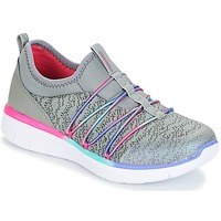 Zapatos Niña Fitness / Training Skechers SYNERGY 2.0 Gris