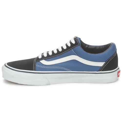 Zapatos especiales para hombres y mujeres Vans OLD SKOOL Azul