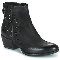 Zapatos Mujer Botas de caña baja Mjus DALLY STAR Negro