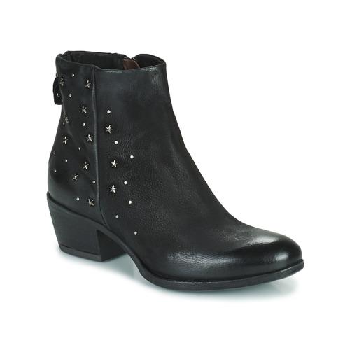 Cómodo y bien parecido Zapatos especiales Mjus DALLY STAR Negro