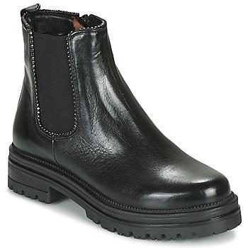 Zapatos Mujer Botas de caña baja Mjus DOBLE CHELS Negro