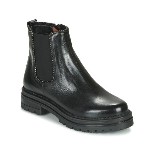 Los zapatos más populares para hombres y mujeres Zapatos especiales Mjus DOBLE CHELS Negro