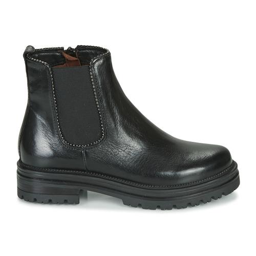 Mjus Caña Chels Botas De Doble Mujer Negro Baja Zapatos PZiukXOT