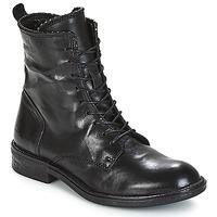 Zapatos Mujer Botas de caña baja Mjus PAL LACE Negro