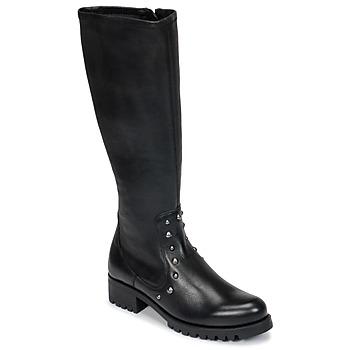 Zapatos Mujer Botas urbanas Unisa IKERI Negro