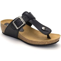Zapatos Mujer Chanclas Morxiva Shoes Sandalias Bio de piel de mujer by Morxiva Noir