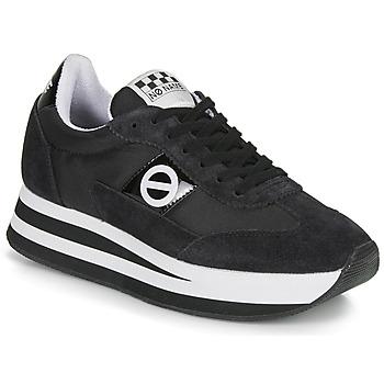 Zapatos Mujer Zapatillas bajas No Name FLEX JOGGER Negro