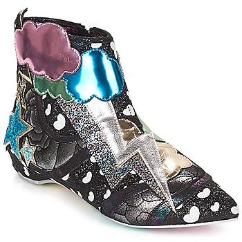 Zapatos Mujer Botas de caña baja Irregular Choice Electric boots Negro / Silver