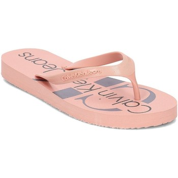 Zapatos Mujer Chanclas Calvin Klein Jeans R8948 Rosa