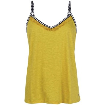 textil Mujer Tops y Camisetas Protest TOP  FLAWLESS MUJER AMARILLO AMARILLO