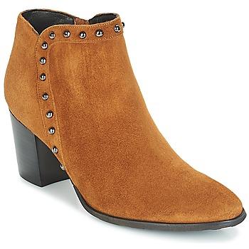 Zapatos Mujer Botines Myma POUTZ Camel