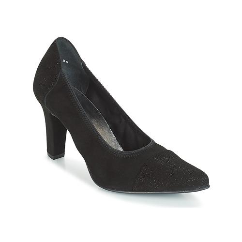Mujer Zapatos Pizzans Negro De Tacón Myma Pk0wOn