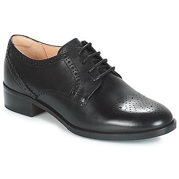 Zapatos Mujer Derbie Clarks NETLEY ROSE Negro