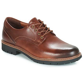 Zapatos Hombre Derbie Clarks BATCOMBE HALL Brown