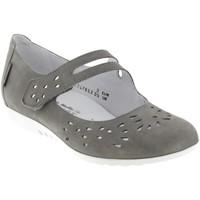 Zapatos Mujer Bailarinas-manoletinas Mephisto Dora perf Cuero gris claro