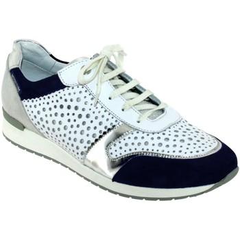 Zapatos Mujer Zapatillas bajas Mephisto Nadine Blanco/azul marino