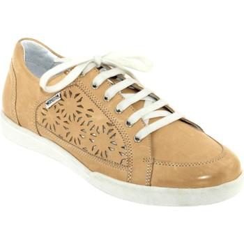 Zapatos Mujer Zapatillas bajas Mephisto Daniele perf Cuero beige